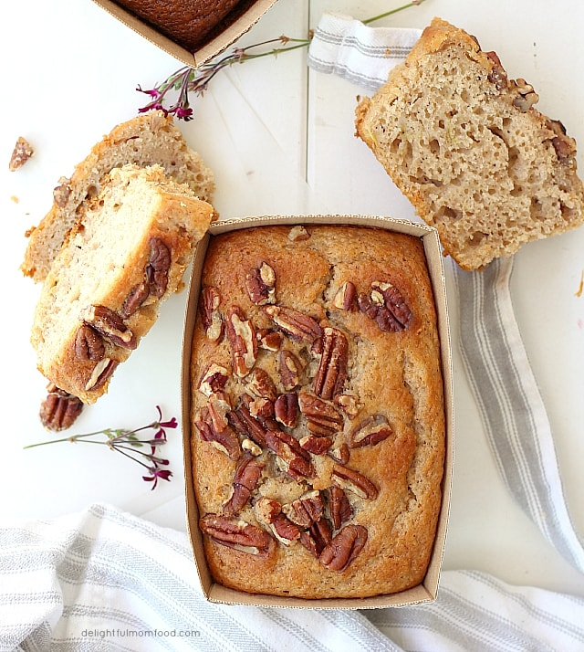 banana pecan bread