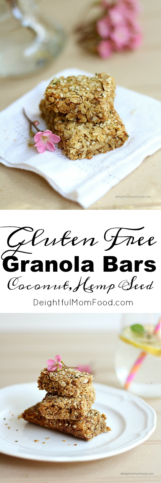 Chewy Coconut Granola Bars For Breakfast!
