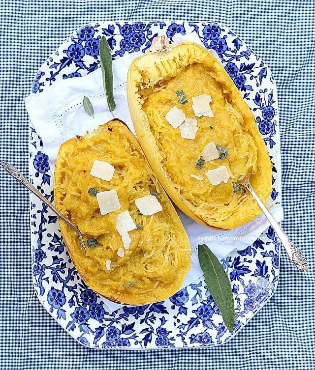 Spaghetti Squash Pasta Butternut Sauce Pasta
