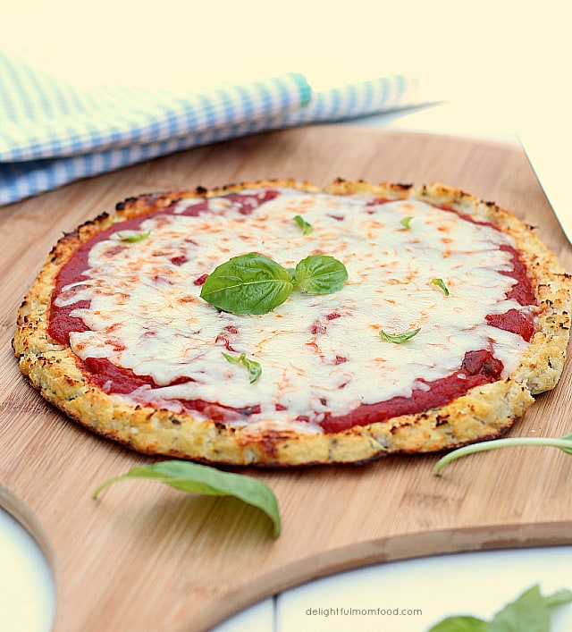 The Perfect Cauliflower Pizza Crust