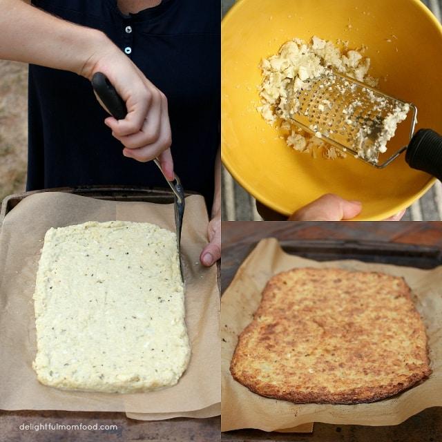 The Perfect Cauliflower Pizza Crust