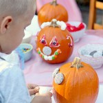 Halloween Pumpkin Decorating Party