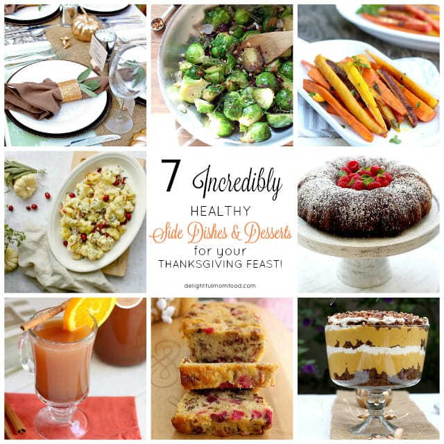 7 Healthy Thanksgiving Desserts And Side Dishes