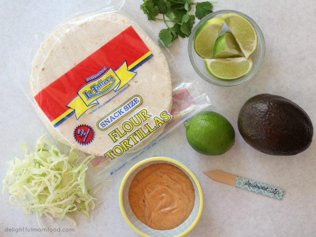 vegan fish taco ingredients