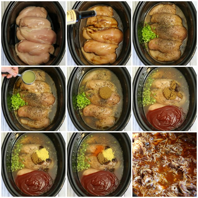Crockpot BBQ Chicken