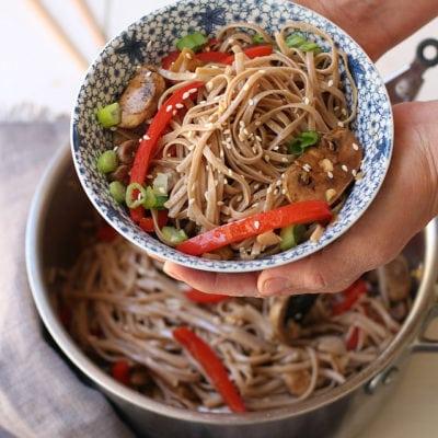 Easy Gluten Free Japanese Ramen Noodles | Delightful Mom Food