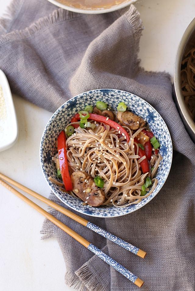 Easy Japanese ramen noodles