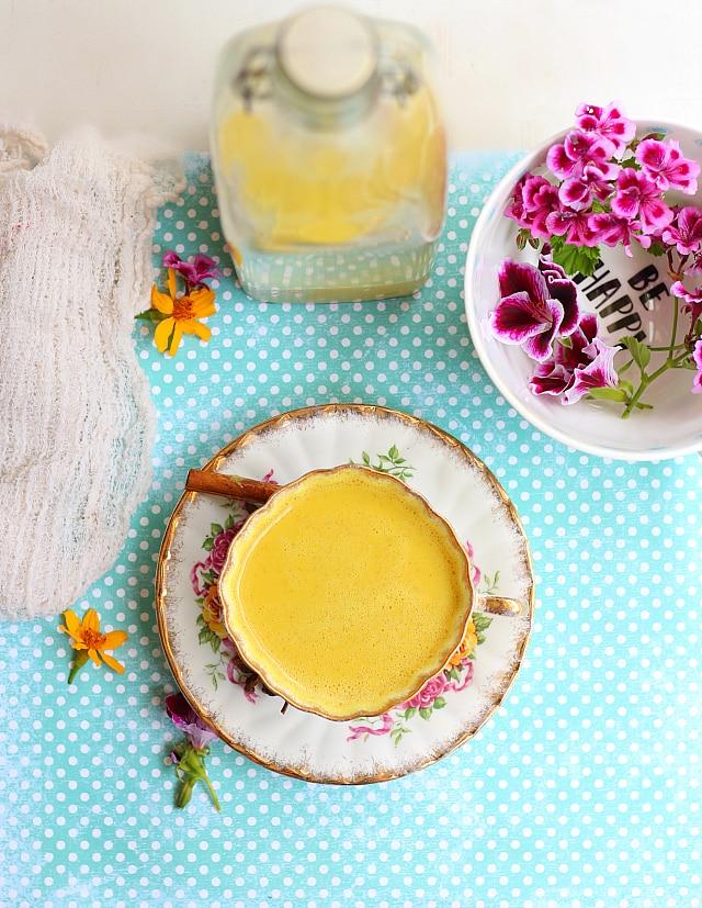 Best golden Milk Tea Recipe