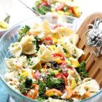 Bowtie Pasta Salad With Broccoli and Feta (Video)