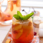 White Peach Sangria With Mint