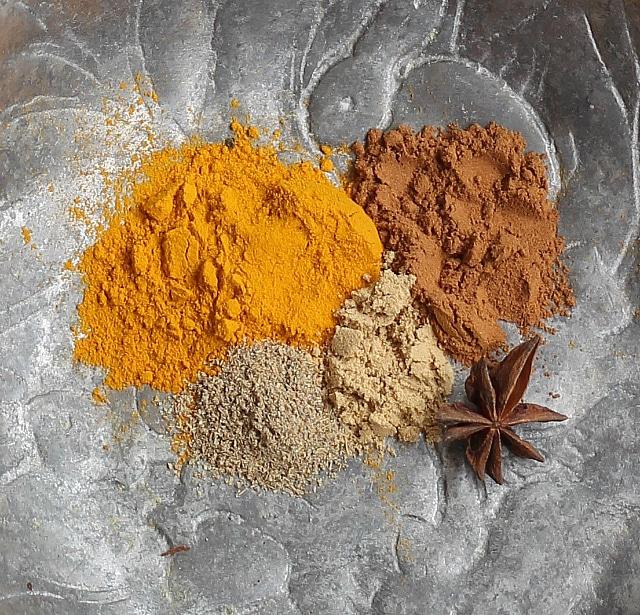 Golden Milk Spices
