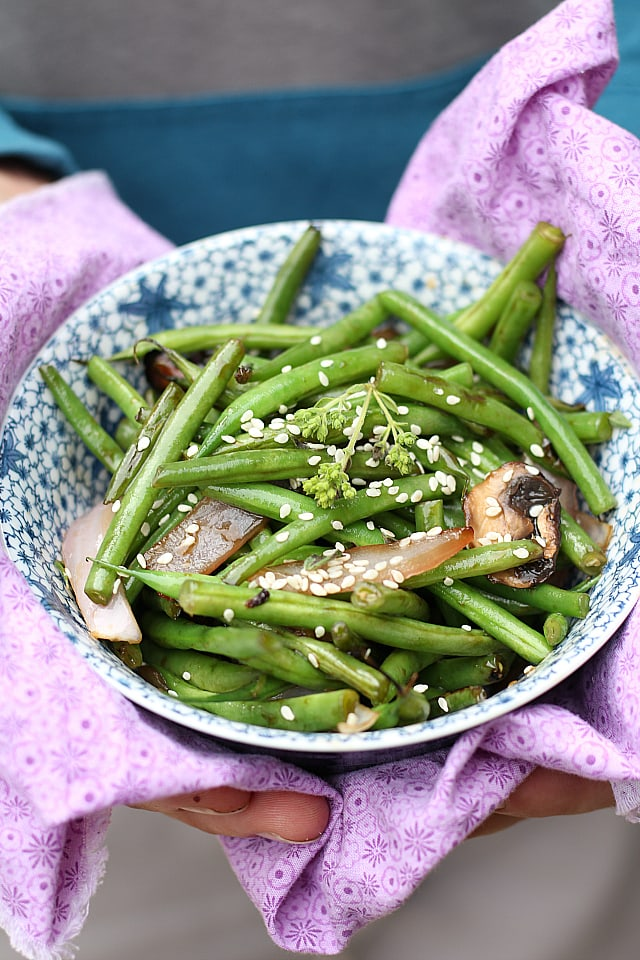 Crispy Asian Green Beans