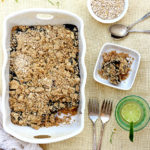 Healthy Peanut Butter and Jelly Baked Oatmeal (Low Sugar)
