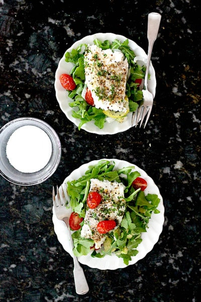 Baked Cod in Foil With Grape Tomatoes