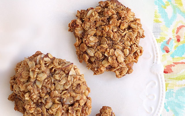 Easiest Peanut Butter Oatmeal Cookies Made With Peanut Butter Powder