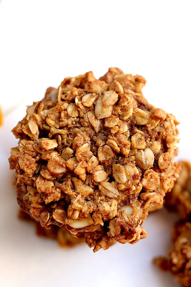 Chewy peanut butter oatmeal cookie recipe