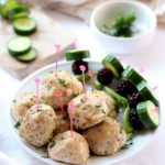 Healthy Oven-Baked Turkey Meatballs