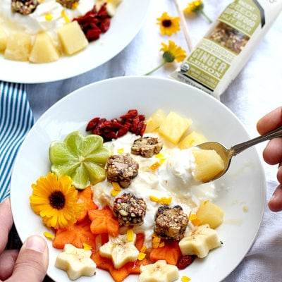 Tropical Greek Yogurt Bowl + 20 Healthy Greek Yogurt Breakfast Recipes
