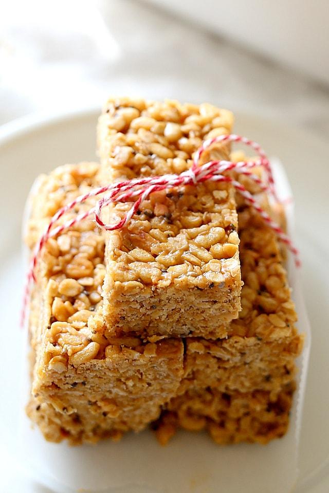Healthiest Peanut Butter No Bake Granola Bar