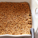 Rice Puff Granola Bars - no bake all natural ingredients