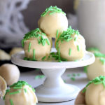 Sugar Cookie Truffles (Vegan)