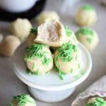 Sugar Cookie Truffles (Vegan)