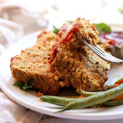 Veggie-Packed Turkey Meatloaf Recipe