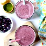 Matcha Berry Smoothie