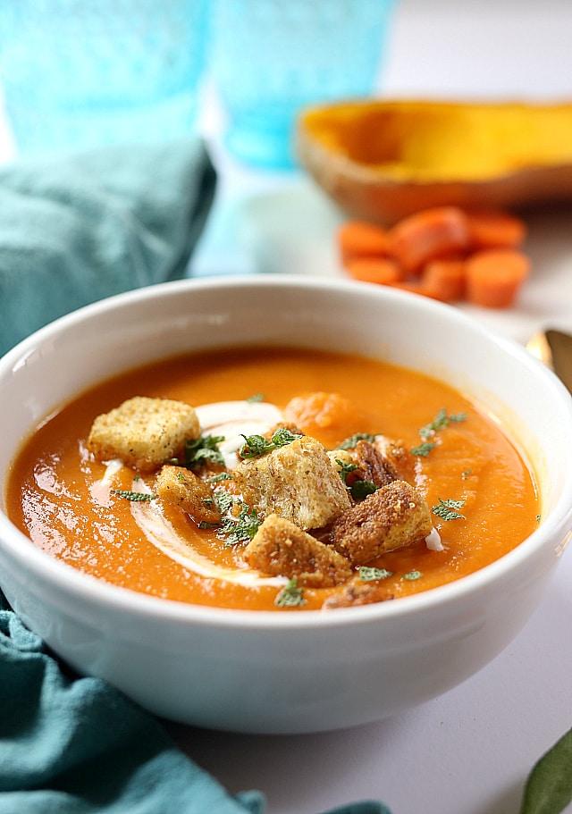 easy carrot soup recipe