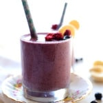 Blueberry Banana Smoothie (Dairy Free)