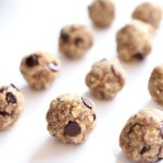 Coconut Oatmeal Chocolate Chip Cookie Dough Energy Bites (Nut-Free)