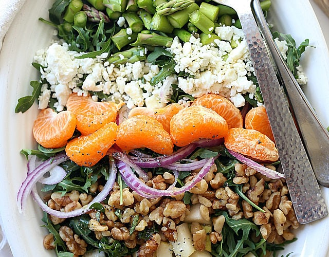 simple spring and summer salads