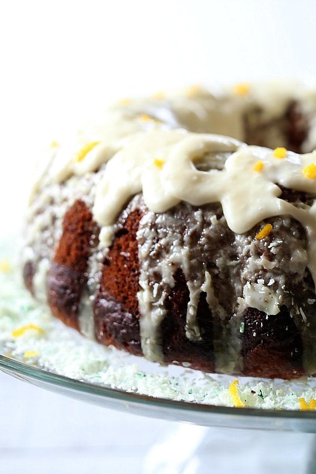 Glazed Orange Cake Gluten Free