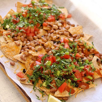 Family-Style Simple Nachos Recipe