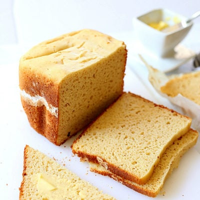 Gluten Free White Bread Recipe