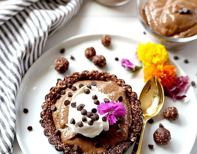 Chocolate Pie Recipe Vegan Paleo