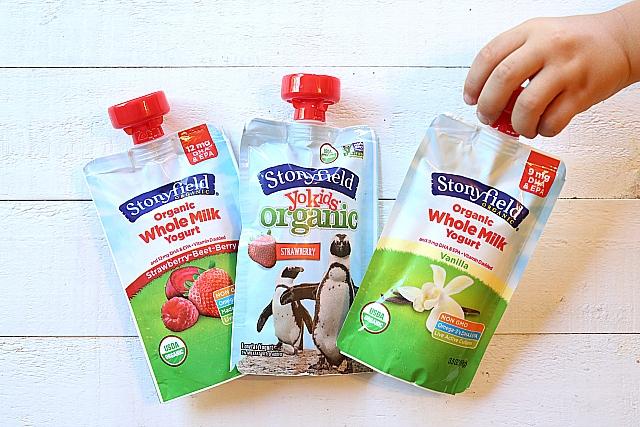 stonyfield organic yogurt crushers