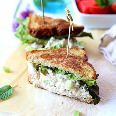 Leftover Turkey Salad Sandwich Recipe