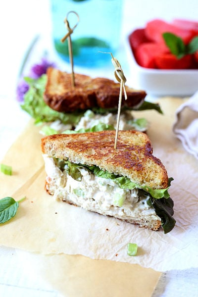 Leftover Turkey Salad Sandwich Recipe