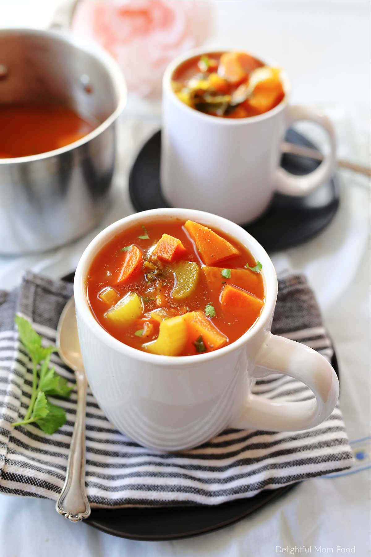 sweet potato stew in a cup