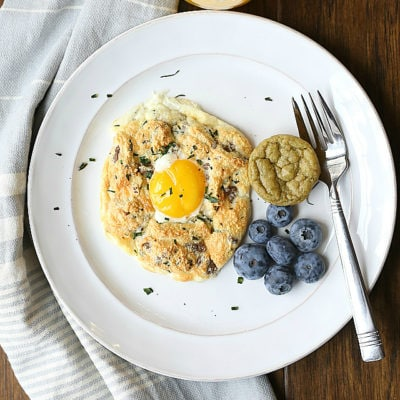 Turkey Sausage Cloud Eggs