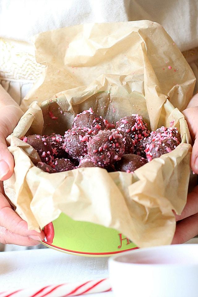 healthy chocolate fudge balls