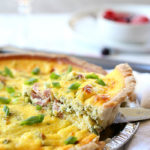 Healthy Kale + Ham Greek Yogurt Quiche Recipe (Cheeseless)