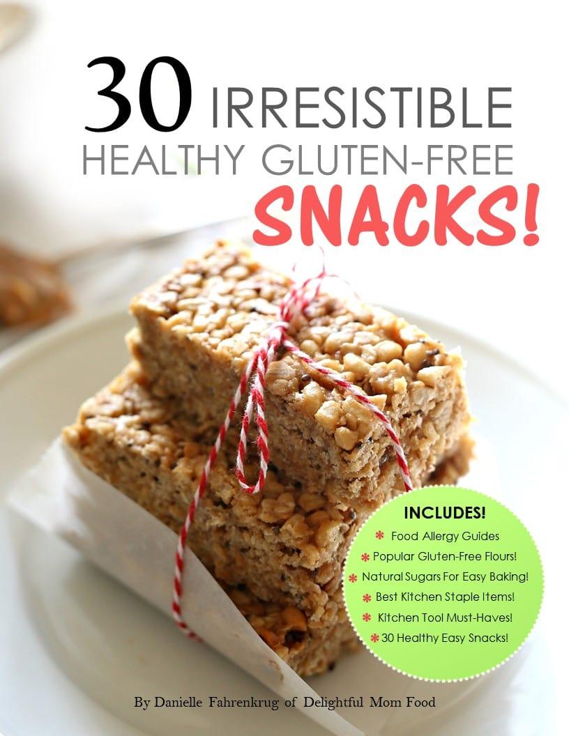 Healthy irresistible snacks ebook