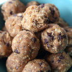 No-Bake Chocolate Chip Cookie Bites