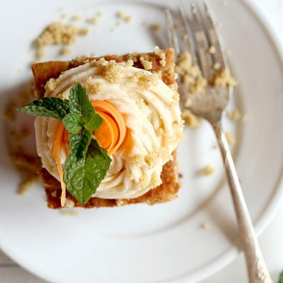 Easy Breakfast Carrot Cake With Refined Sugar-Free Icing