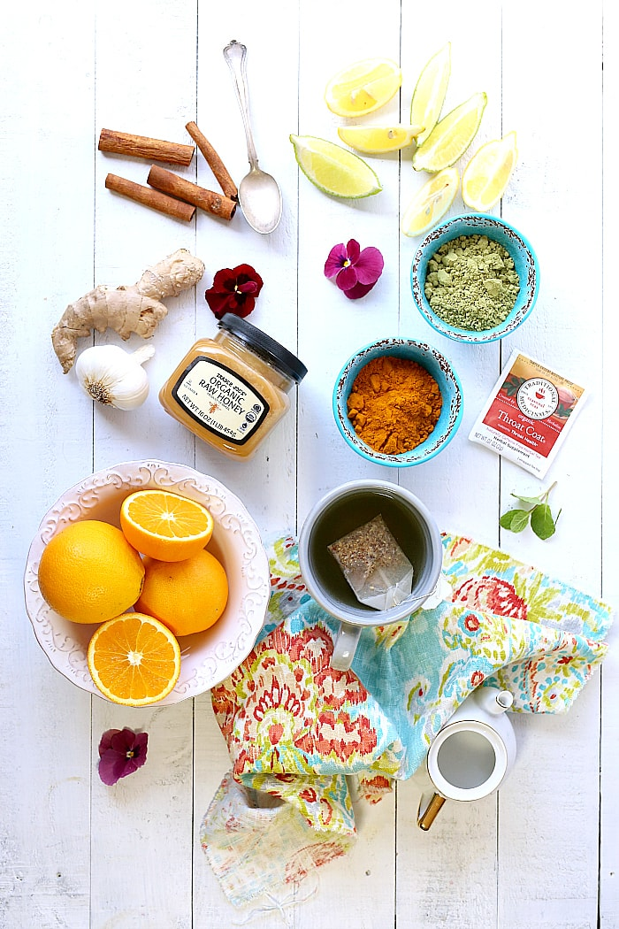 Natural remedies for cough, cold and flu symptoms to help heal your body quickly, boost immunity plus grandma's best tea recipe to fight a naughty cough that doesn't seem to go away!