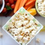 Stovetop Popcorn