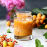 Loquat Orange Cocktail Recipe