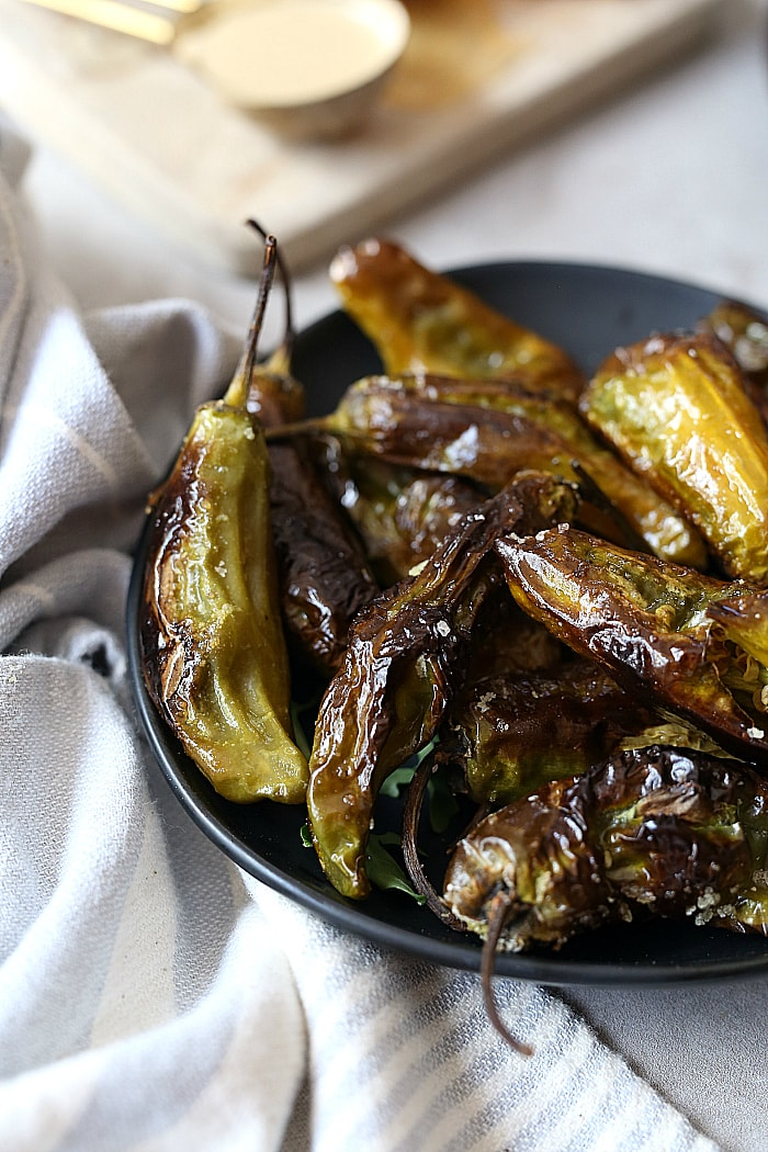 how to cook shishito peppers